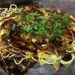 広島・尾道のお好み焼き屋「のぐち」で「砂ずり・すじ玉」を食べてきた!