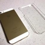 iPhone 5/5s対応で480円の透明なハードケースを買ってみた!
