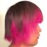 【マニパニ】ピンクの派手髪の色落ち過程を毎日写真に撮ってみた