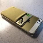 【iPhone】Suicaを収納できる貼り付けタイプのポケットを買ってみた