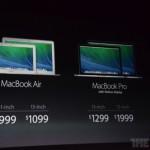 【速報】新型MacBook Pro、13インチは1299ドル、15インチは1999ドルから!