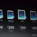 【速報】新型iPad miniはRetinaディスプレイ搭載で11月発売。Wi-Fiモデルは399ドル(約3.9万円)から!