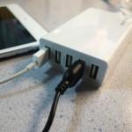 5つのガジェットを1つのコンセントで同時に充電できるAnker 5ポート USB急速充電器