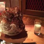 六本木のかき氷カフェバー「yelo」でキャラメル・ティラミス・有機人参マスカルポーネ味を食べてきた!