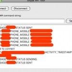 Objective-C + Cocoa + Skype.framework で SkypeLogger を作る