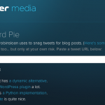 ツイッターのつぶやきをブログに貼付けできる「Blackbird Pie」