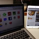 iPad・iPad miniを立てて使えるスタンドがめっちゃ便利!パソコンのお供にも!