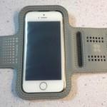 iPhone 5S/5C/5/4S/4で使えるランニング用のアームバンドを買ってみた
