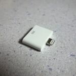 iPhone4/4S用のケーブルをiPhone5で使えるようになる140円の変換アダプタを買ってみた