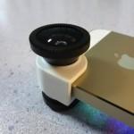 iPhone 5/5sで使える広角&魚眼&マクロレンズが70%オフの1,199円だったので試してみた!