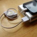 iPhone 5やiPad miniを充電・同期できる151円の巻き取り式ライトニングケーブルを買ってみた