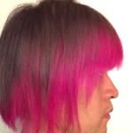 【マニパニ】ピンクの派手髪の色落ちを毎日写真に撮ってみた 2回目