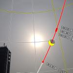 金環日食の時間や見え方などが分かる無料のiPhoneアプリ「金環食2012」の使い方