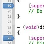 Xcode4でブレークポイントを一気に全削除する方法