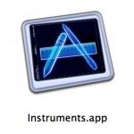 Xcode4.3でInstrumentsを起動する方法