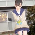 7m11cmの巨大カノジョがARでアキバのセブンイレブンに出現!NEWラブプラス発売記念キャンペーンに行ってきた!