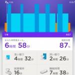 UP by Jawbone で深い眠りや浅い眠りのライフログを見るのが楽しい