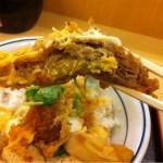 「かつや 中野サンモール店」で期間限定の「すき焼き風牛カツ丼」を食す!