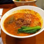 干しエビ風味!東京・中野にある「担々麺 ほおずき」で「担々麺」を食す!