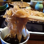 本格派!東京・中野にある「さらしな総本店」で「天もり(ニ八)」を食す!