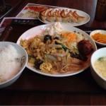 大阪王将 岩本町店で日替わりランチと餃子を食す!
