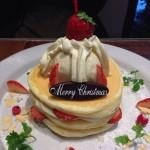 中野のパンケーキカフェ「ジェイエス パンケーキ」でクリスマスパンケーキを食す!