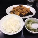 豚肉きくらげ卵炒めを万豚記(ワンツーチー)ヨドバシAkiba店で食す!
