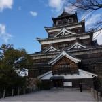 広島城の天守閣内にある博物館で歴史資料とかを見てきた