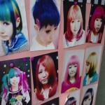 【マニパニ】下北沢の派手髪美容室VIVA CUTE CANDYで髪を銀と緑に染めてもらった